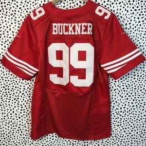 new arrival c04ce 1fe88 Nike San Francisco 49ers Jersey Deforest Buckner